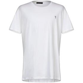 《期間限定 セール開催中》TRUSSARDI JEANS メンズ T シャツ ホワイト 4XL コットン 95% / ポリウレタン 5%