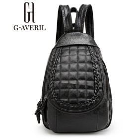 【G-AVERIL】 リュック レディース 2way PUレザー バック 肩掛け 女の子 かわいい おしゃれ カジュアル 軽量 オフィス 通勤 通学 サック リュックサック