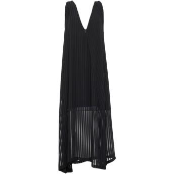 《セール開催中》NINEMINUTES レディース 7分丈ワンピース・ドレス ブラック one size ポリエステル 100%