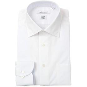 (ザ・スーツカンパニー) SUPER EASY CARE/ワイドカラードレスシャツ 織柄 〔EC・FIT〕 ホワイト 37