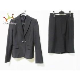バーバリーブラックレーベル Burberry Black Label スカートスーツ サイズ40 M レディース 黒   スペシャル特価 20191004