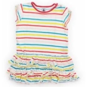 【プチバトー/PETITBATEAU】ワンピース 80サイズ 女の子【USED子供服・ベビー服】(437362)