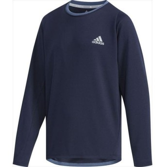 [adidas]アディダス ジュニア B TRN CLIMALITE ロングスリーブTシャツ (FYQ54)(EC9223) レジェンドインクF17[取寄商品]