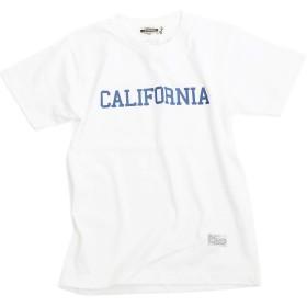 (キャンプフリー) CAMPFREE CALIFORNIA プリント Tシャツ 半袖 ジュニア/キッズ M.H.A.style 10067 A.ホワイト