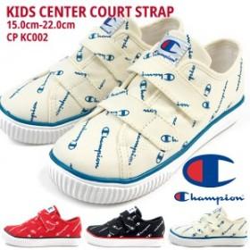 【送料無料】 スニーカー キッズ チャンピオン Champion KIDS CENTER COURT STRAP CP KC002