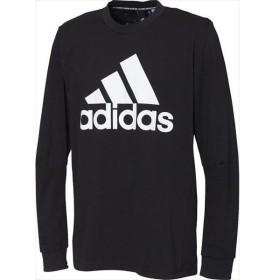 [adidas]アディダス M MUSTHAVES BADGE OF SPORTS ロングスリーブシングルジャージ (FWQ85)(EB5266) ブラック[取寄商品]