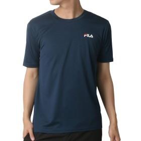 フィラ FILA PEメッシュベーシックTシャツ 438-270 半袖 メンズ【ネイビー(NV)LLサイズ】