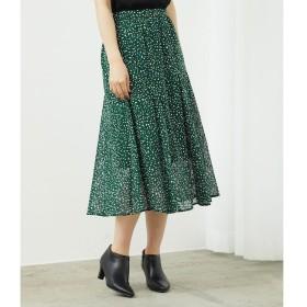 【ロペピクニック/ROPE' PICNIC】 【セットアップ対応】カットドビーマーメイドスカート