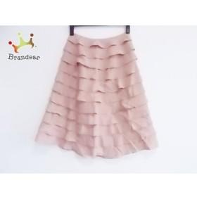 ホコモモラ JOCOMOMOLA スカート サイズ40 XL レディース ピンク フリル 新着 20190726
