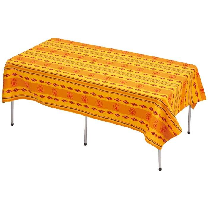 【露營趣】Coleman CM-9437 防風餐桌布 桌布 /L 桌巾 抗污 防水 露營 郊遊 野餐