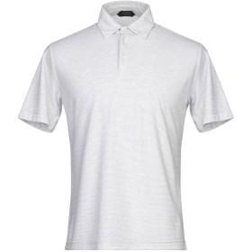 《期間限定セール開催中!》ZANONE メンズ ポロシャツ ライトグレー 48 コットン 100%