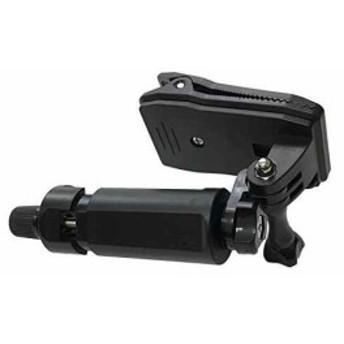 スマホ GoPro 撮影 クリップ ハンズフリー マウ ント ホルダー 3.5 6.8 インチ 対応(BLACK)