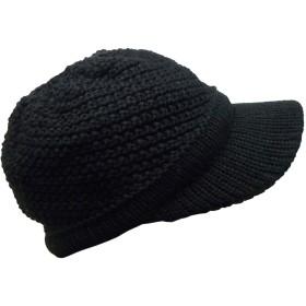 (ディグズハット)DIGZHAT ニットキャップ アクリル メンズ レディース ニット帽 フリーサイズ (ブラック)
