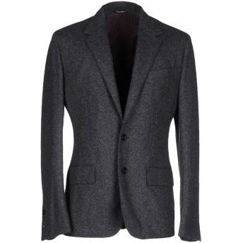 《期間限定セール開催中!》DOLCE & GABBANA メンズ テーラードジャケット 鉛色 48 バージンウール 80% / ナイロン 20%