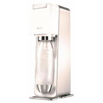 炭酸水メーカー sodastream ソーダストリーム SSM1059 ソースパワー スターターキット ホワイト 白 炭酸メーカー セット SAKODA サコダ W