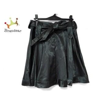 シーバイクロエ SEE BY CHLOE スカート サイズ40 M レディース 美品 ダークグリーン 新着 20190726