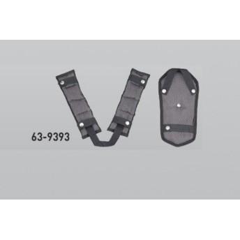極東産機 安全帯肩パッド フリーサイズ 63-9393