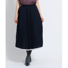SunaUna(スーナウーナ) 【洗える】アコーディオンプリーツスカート