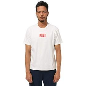 [アズールバイマウジー] tシャツ LIFE GOES ON TEE 251CSM90-430E S ホワイト メンズ