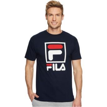 [フィラ Fila] メンズ トップス シャツ Stacked T-Shirt [並行輸入品]