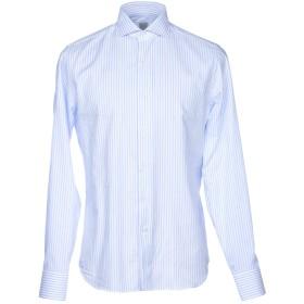 《期間限定セール開催中!》GRIGIO メンズ シャツ ホワイト 44 コットン 100%