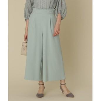 Couture Brooch(クチュールブローチ) 【WEB限定プライス/WEB限定サイズ(SS・LL)あり/洗える】ウエストフリルパンツ