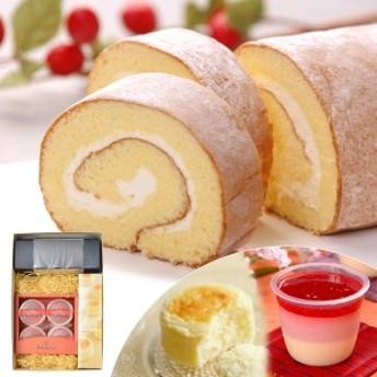 送料無料 北海道 ジョリ・クレール 北斗の贈り物 A / スイーツ 洋菓子 ロールケーキ スフレ グルメ 食品 ギフト