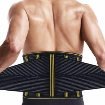 腰サポーター SZ-Climax 腰痛ベルト コルセット ぎっくり腰 腰痛緩和 腰椎固定 姿勢矯正 シェイプアップベルト トレーニング スポーツ用