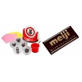 くるくるチョコレート工場+明治ミルクチョコレート