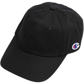 Champion (チャンピオン) ローキャップ 帽子 キャップ ロゴ コットン 綿 フリーサイズ ブラック