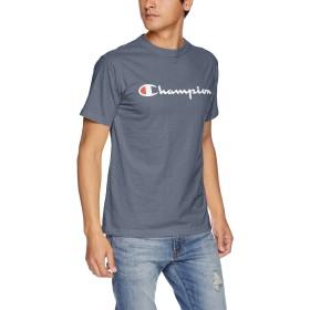 [チャンピオン] スクリプトロゴTシャツ ベーシック C3-H374 メンズ ウィンザーブルー 日本 S (日本サイズS相当)