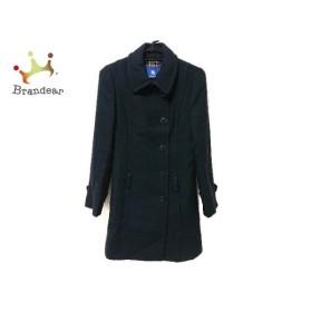 バーバリーブルーレーベル Burberry Blue Label コート サイズ38 M レディース 黒 冬物 新着 20190726