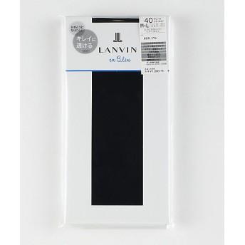 <ランバンオンブルー/LANVIN en Bleu> 40デニールタイツ 53A サフィール【三越・伊勢丹/公式】