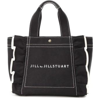JILL by JILLSTUART ジル バイ ジルスチュアート フリルキャンバストートバッグ
