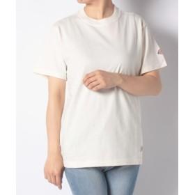 (Dickies/ディッキーズ)DickiesロゴワッペンルーズフィットS/S-Tシャツ/ユニセックス アイボリー