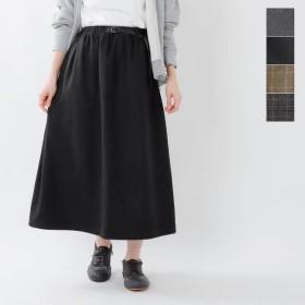 【30%OFF】GRAMICCI グラミチ ウールブレンドロングフレアスカート glsk-19f014
