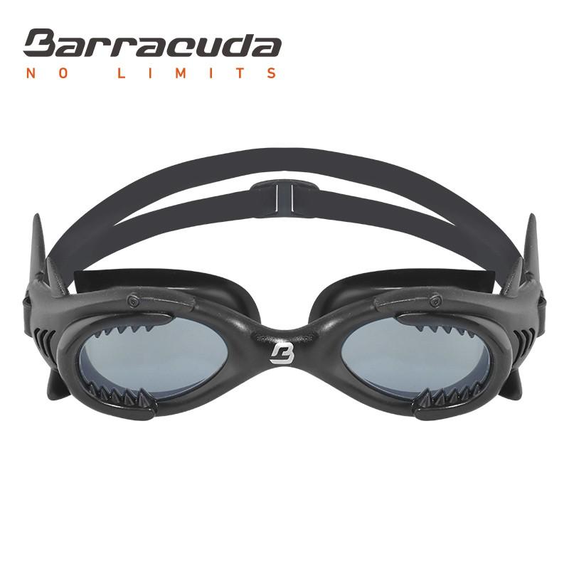 美國Barracuda 巴洛酷達 SHARK 鯊魚 兒童防霧泳鏡 13020