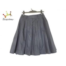 マッキントッシュフィロソフィー スカート サイズ34 M レディース 美品 ネイビー 新着 20190726