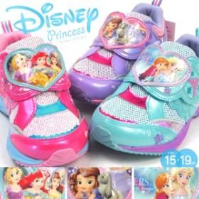【送料無料】 Disney ディズニー プリンセス スニーカー 7410 7411 7412 キッズ