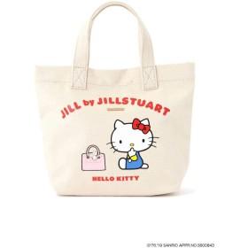 【公式/JILL by JILLSTUART】HELLOKITTYJILLbyトート/女性/キャンバスバッグ/ホワイト/サイズ:FR/