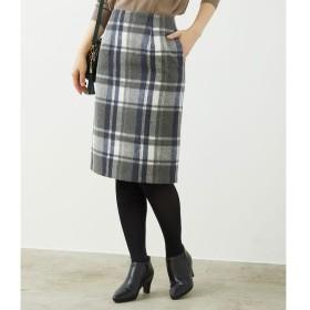 【ロペピクニック/ROPE' PICNIC】 【着丈が選べる】ビッグチェックアイラインスカート