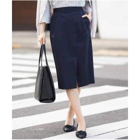 アー・ヴェ・ヴェ(a.v.v) ラップ風スカート[WEB限定サイズ]【ネイビー/L】