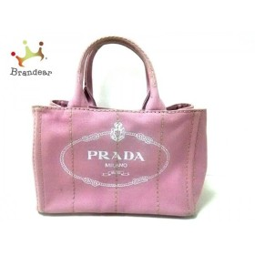 プラダ PRADA トートバッグ CANAPA BN2439 ピンク キャンバス   スペシャル特価 20190909
