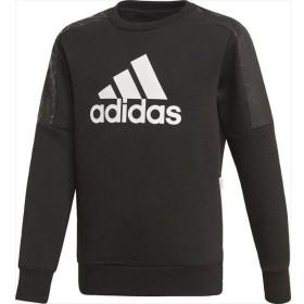 [adidas]アディダス ジュニア B ID ハイブリッドスウェット クルーネック (FYM24)(ED6395) ブラック/ホワイト[取寄商品]