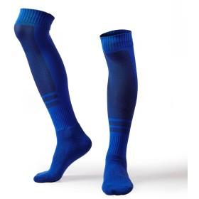 野球 ソックス サッカー 着圧ソックス フットサル スポーツ ランニング 運動 ソックス メンズ 靴下 レディース (ブルー)