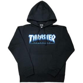 THRASHER HOMETOWN ICE HOODIE SWEAT スラッシャー パーカー プルオーバーパーカ ブラック 黒 size M