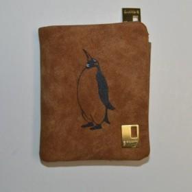 ペンギン財布、キャメル、財布、収納力抜群のお財布!