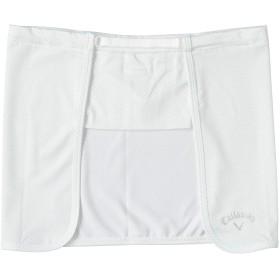 [キャロウェイ] [レディース] 速乾 ネックガード (UVカット) / 241-9186811 / ゴルフ 紫外線防止 030_ホワイト 日本 FR (FREE サイズ)