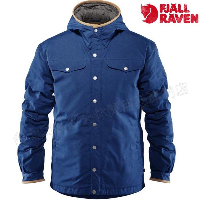Fjallraven 瑞典北極狐 Greenland No.1 Down 羽絨外套/獵裝夾克/軍裝/穿搭 87135 527 男款 深藍