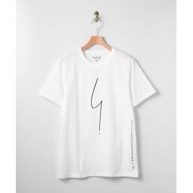 <アニエスベー オム/agnes b. HOMME> ロゴTシャツ 010・ホワイト【三越・伊勢丹/公式】